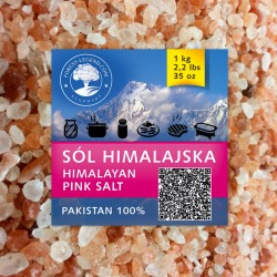 Himalayan salt 1 kg (coarse)