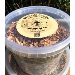 BOX Wood Chips PEAR